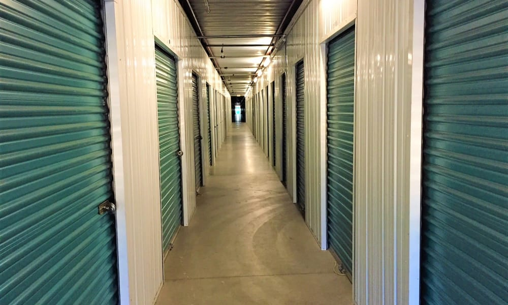 Interior units at Outback Self Storage in Orange, CA