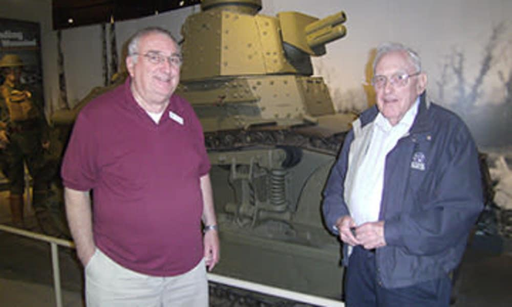 Residents from Traditions of Hershey at the museum in Palmyra, Pennsylvania