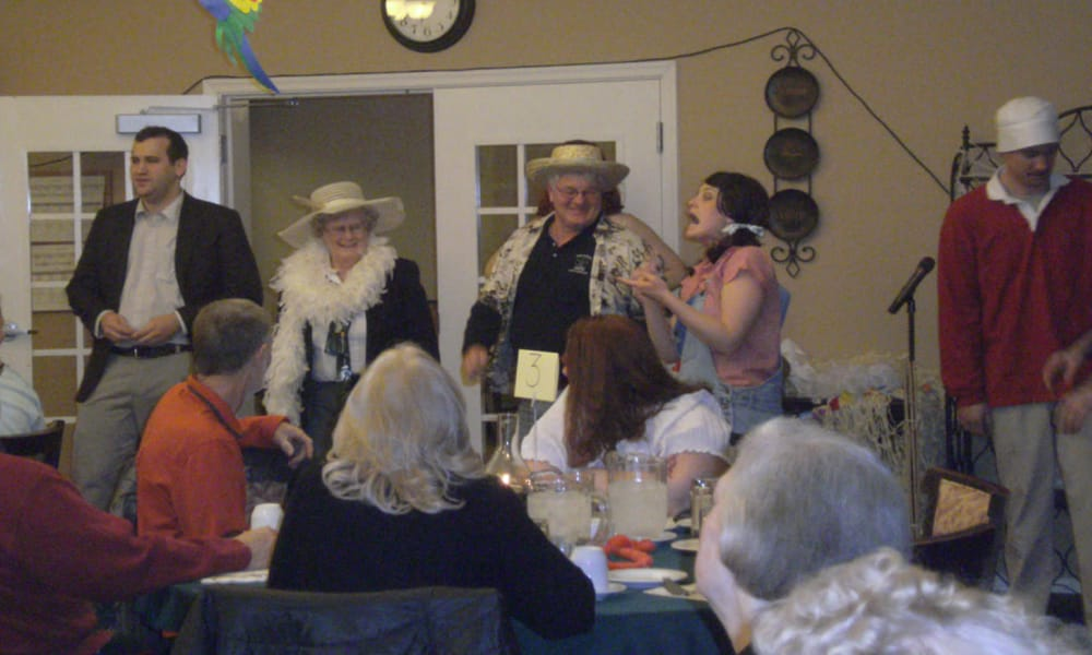 Group celebration at Traditions of Hershey in Palmyra, Pennsylvania