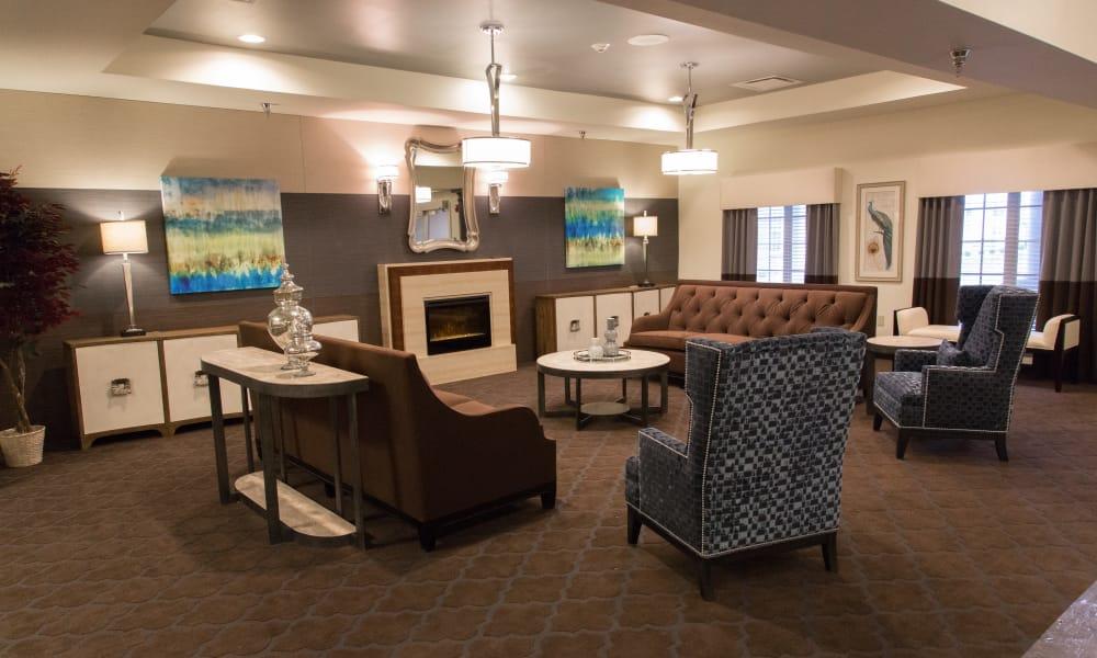 The lounge at Mt Washington in Mt Washington, Kentucky.