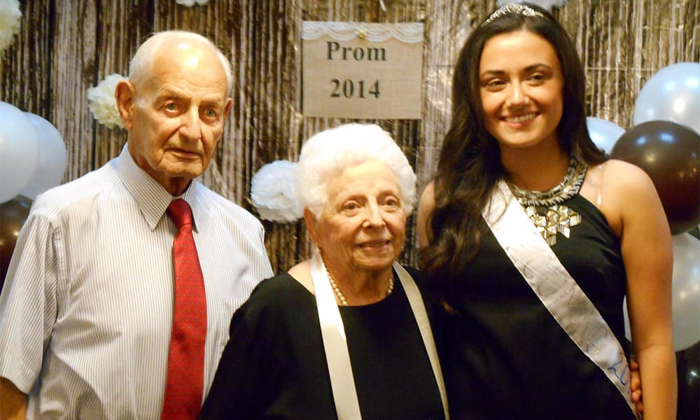 Senior prom 2014 at Cardinal Village in Sewell, New Jersey
