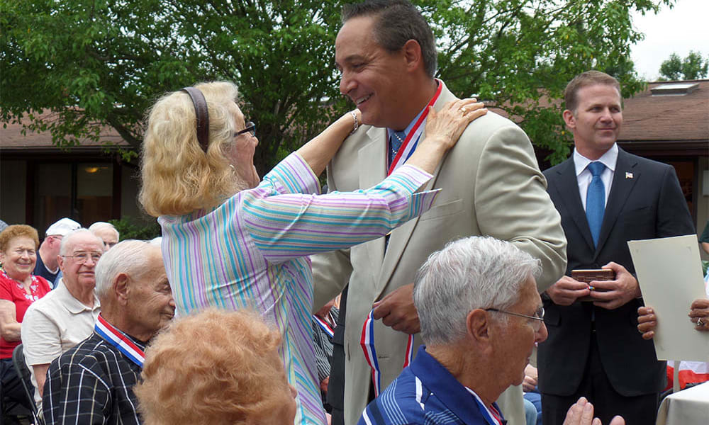 Senior olympics at Cardinal Village in Sewell, New Jersey