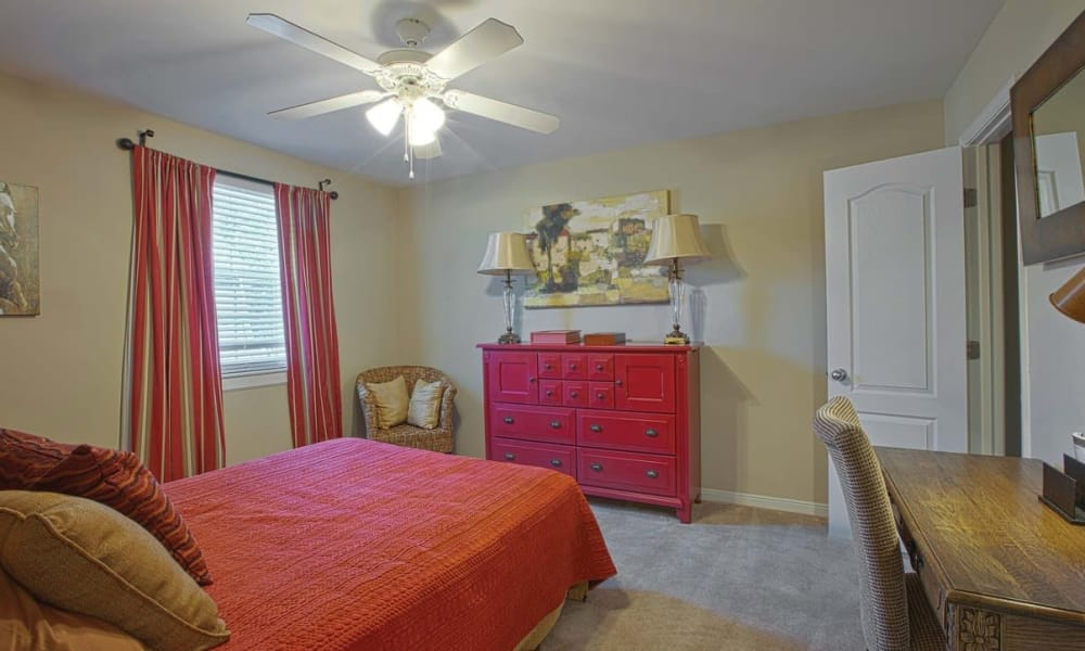 Bedroom at Maple Bay Townhomes in Virginia Beach, Virginia