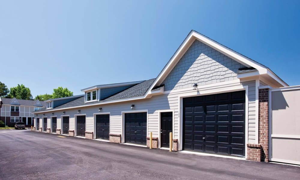 garages at Maple Bay Townhomes in Virginia Beach, Virginia