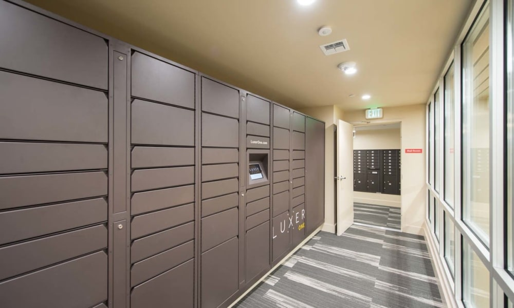 Lockers at Maple Bay Townhomes in Virginia Beach, Virginia
