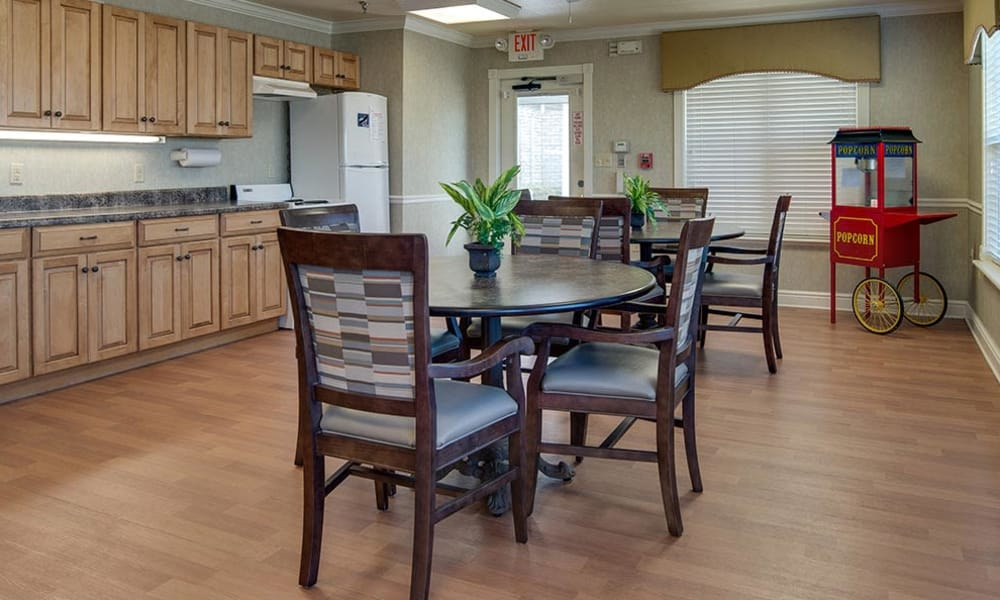 Activity space at The Arbors at WestRidge Place Senior Living in Sikeston, Missouri
