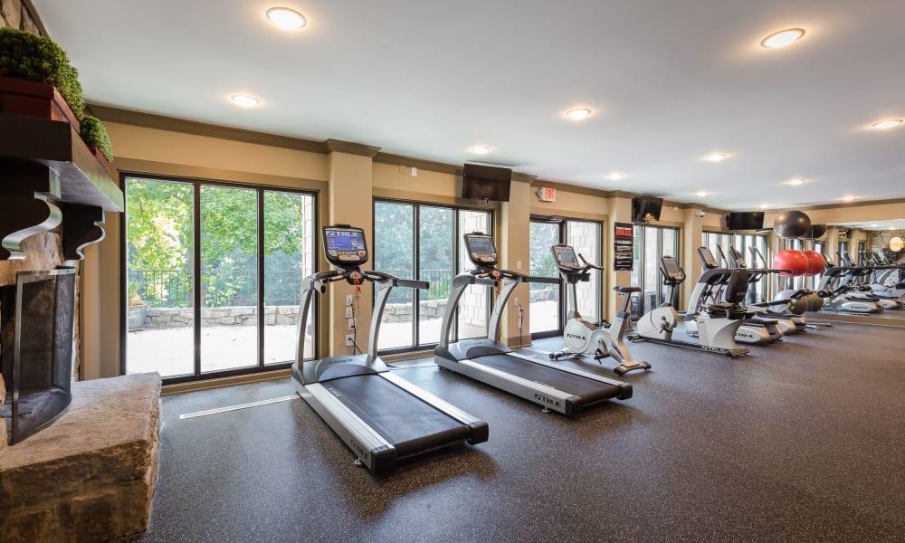 Treadmill at Stone Ridge at Vinings in Atlanta, Georgia