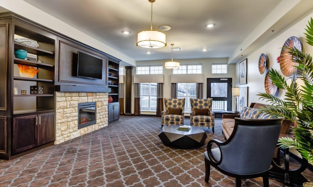 Spacious lobby at Gahanna in Columbus, Ohio