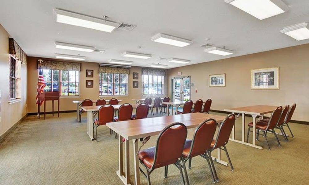 Community room at Keystone Villa at Douglassville in Douglassville, Pennsylvania