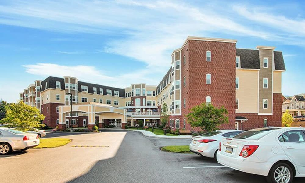 Modern senior living facility at Keystone Villa at Ephrata in Ephrata, Pennsylvania