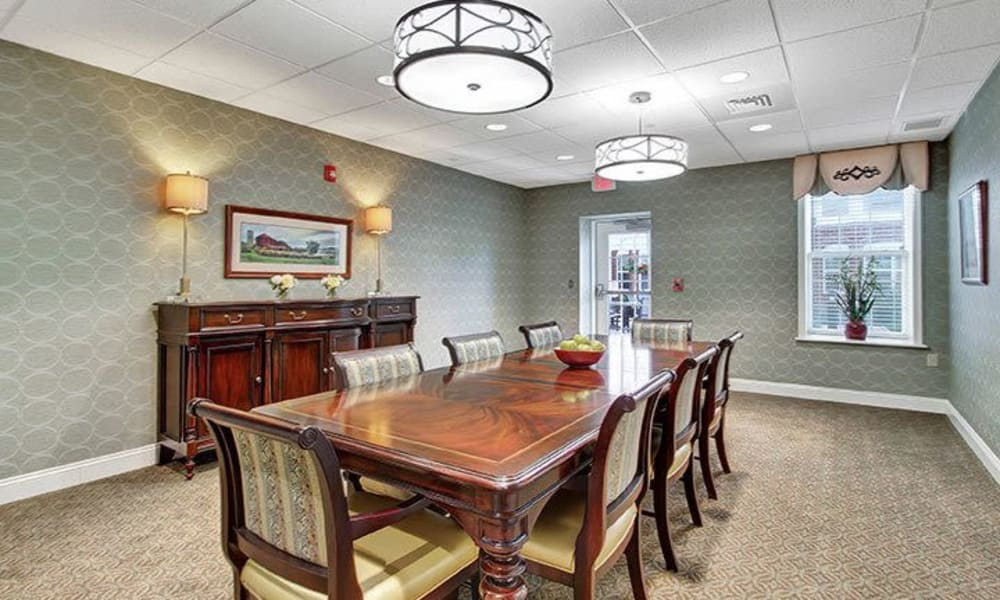 Private Keystone Villa at Ephrata dining room in Ephrata, Pennsylvania