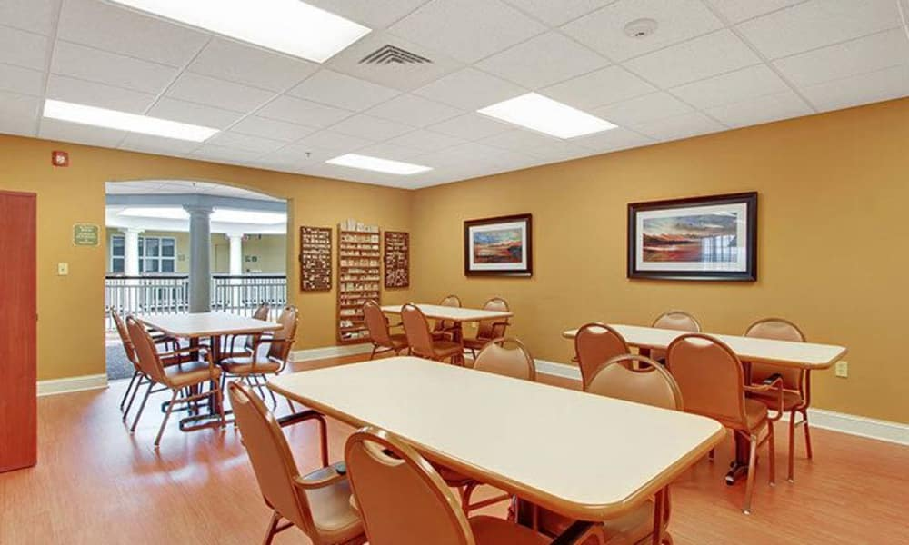 Activity kitchen at Keystone Villa at Fleetwood in Blandon, Pennsylvania