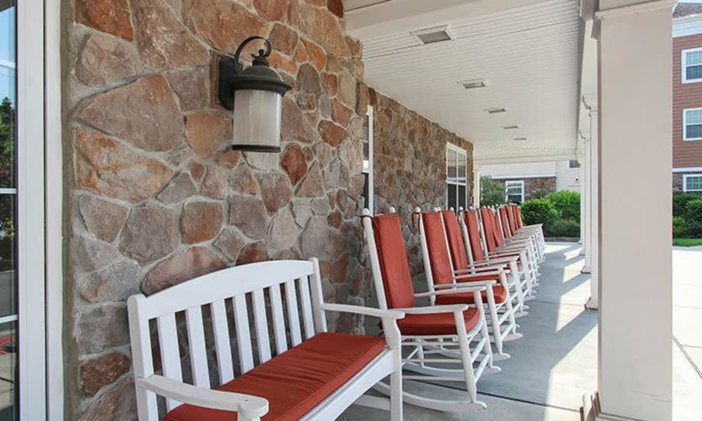 Relax at Keystone Villa at Fleetwood's patio in Blandon, Pennsylvania