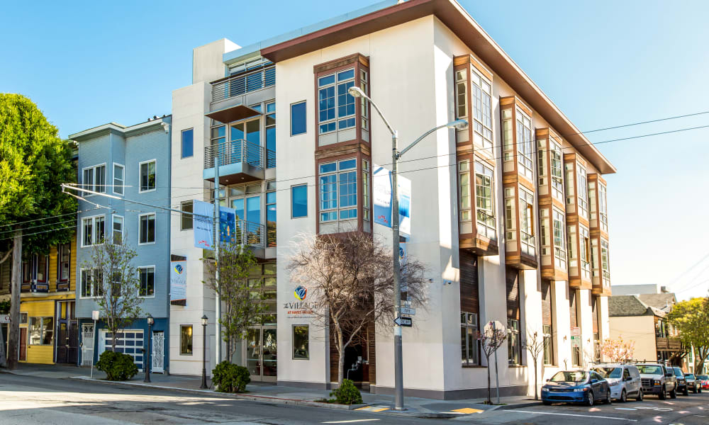 Exterior photo of The Village at Hayes Valley in San Francisco, California