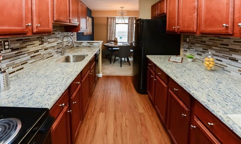 Kitchen at Apartments in Hatfield, Pennsylvania