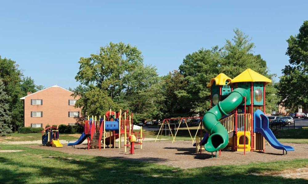 Playground at Mount Vernon Square Apartments in Alexandria, Virginia