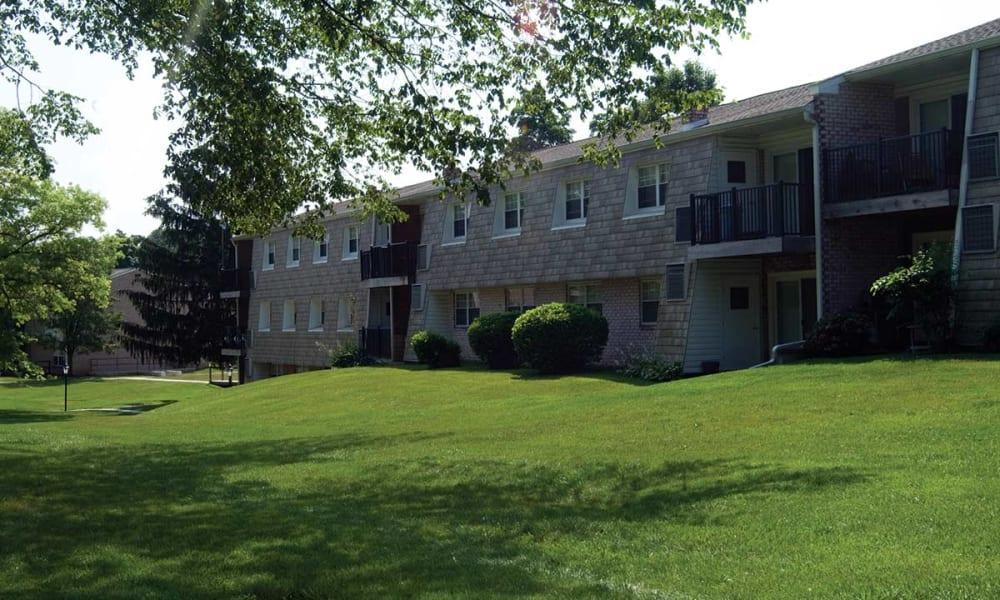 Exterior of Sherry Lake Apartment Homes in Conshohocken, Pennsylvania