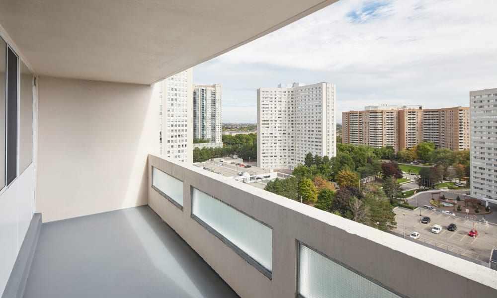 Mississauga Place in Mississauga, ON offers Apartments with a Private Balcony