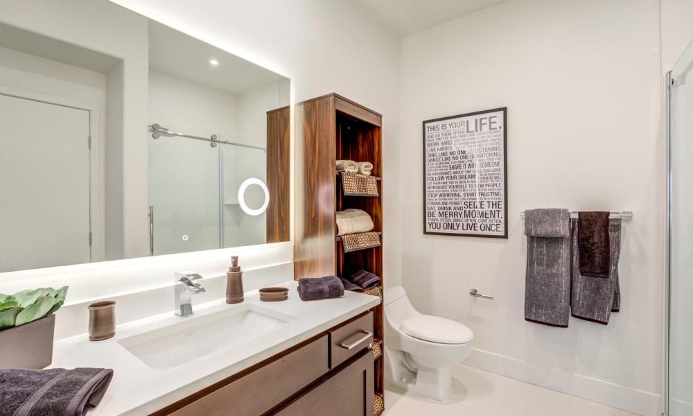 Bathroom at Trend! in Las Vegas, Nevada