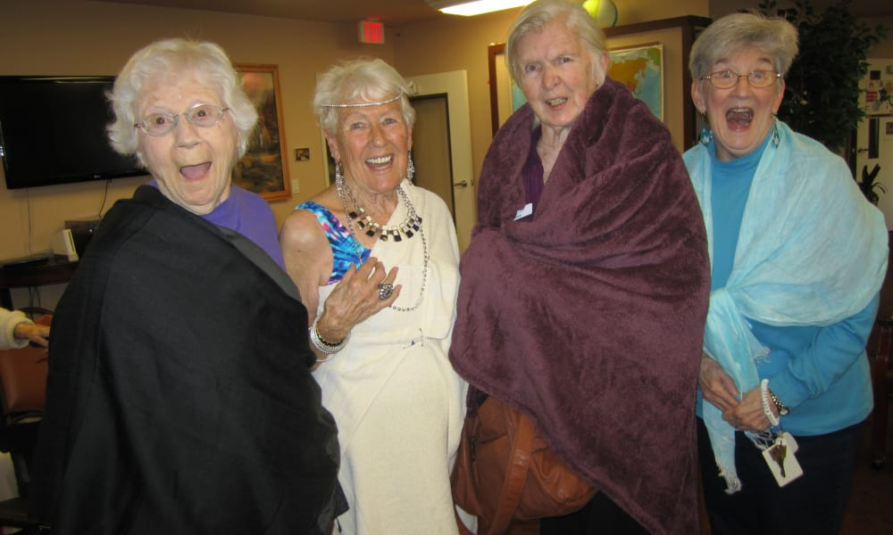 Toga Party at Bella Vista Gracious Retirement Living in Asheville, North Carolina