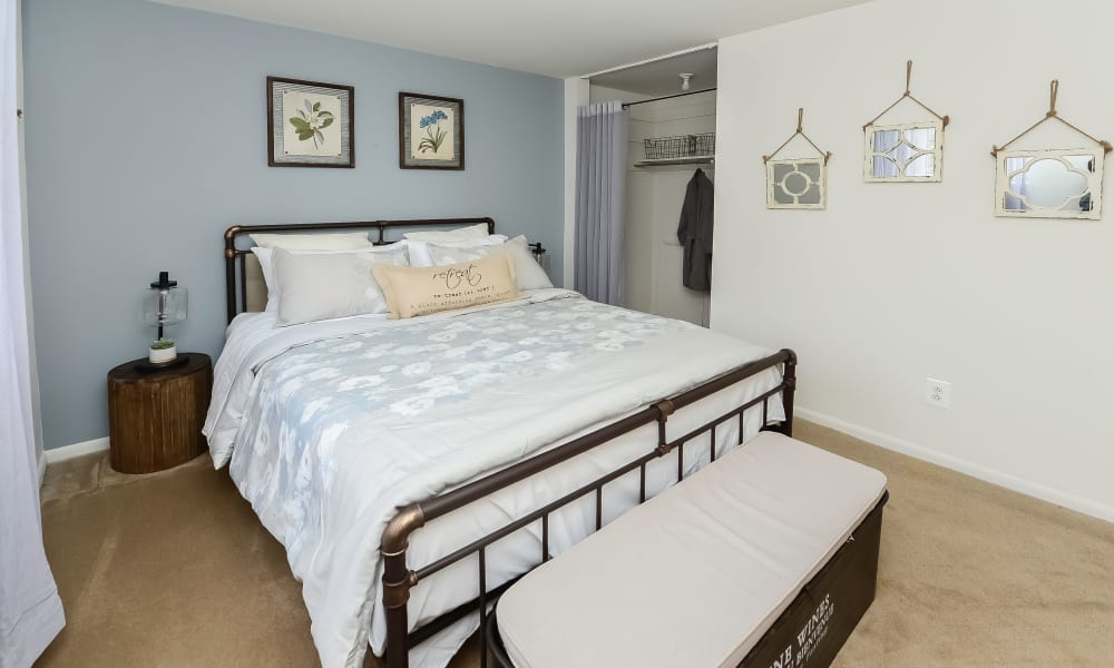Bedroom at Apartments in Lansdale, PA