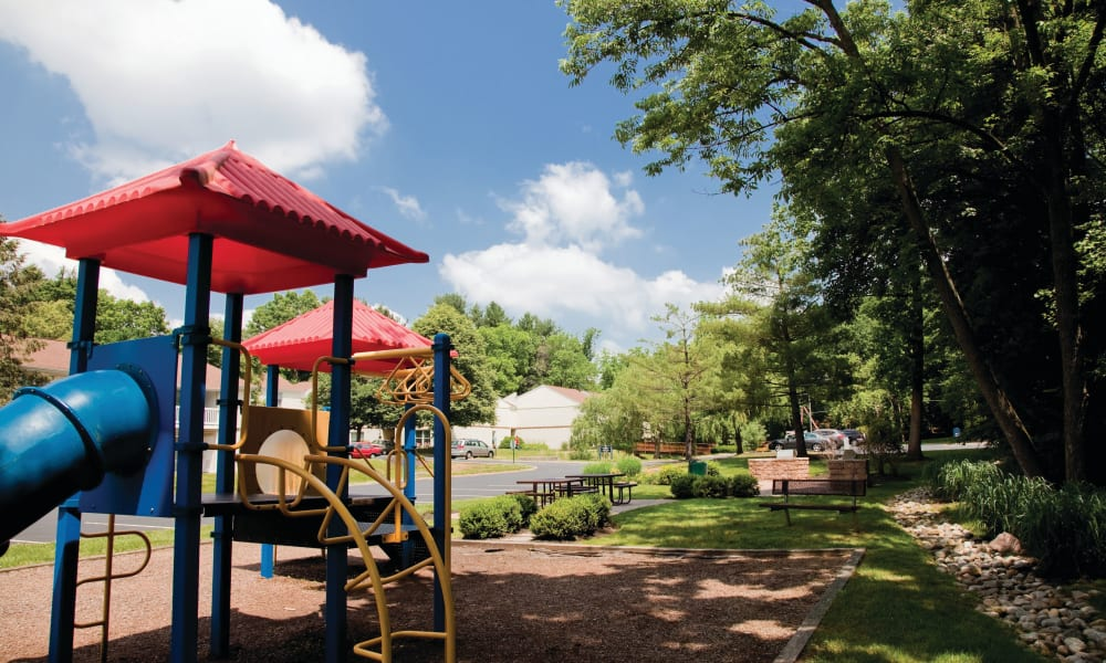 Playground at Willowbrook Apartments in Jeffersonville, Pennsylvania