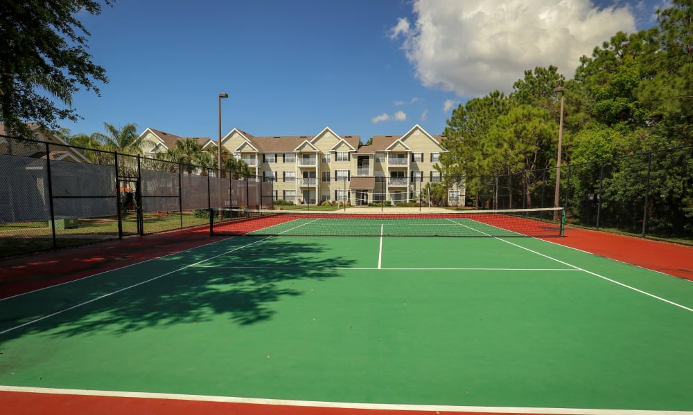 Tennis court at Palms at Wyndtree