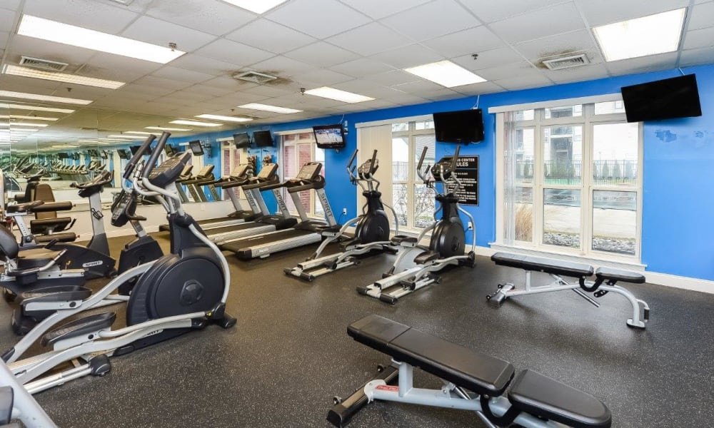 Enjoy Apartments with a Gym at Bishop's View Apartments & Townhomes