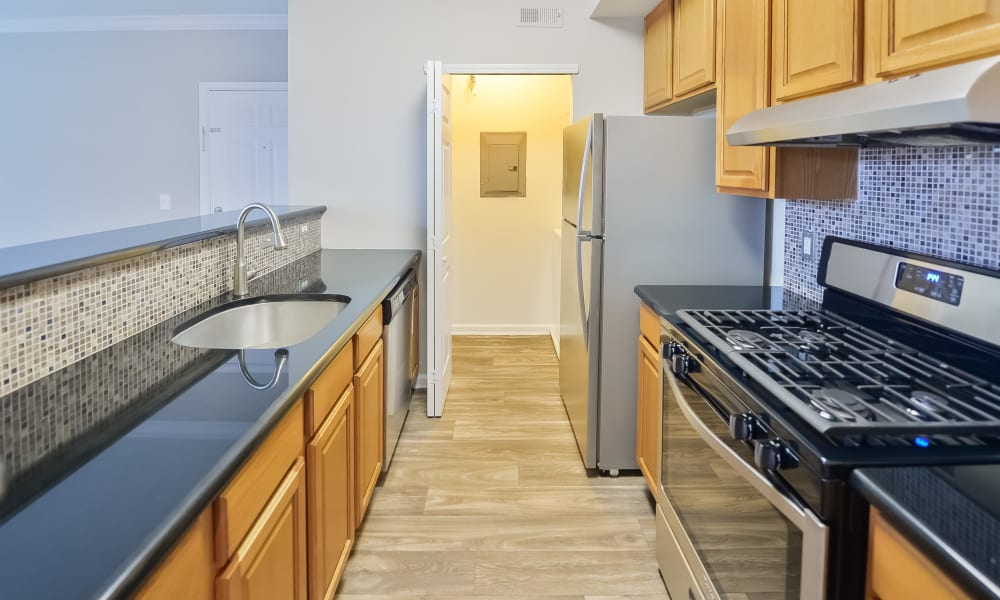 Kitchen at Apartments in Cherry Hill, New Jersey