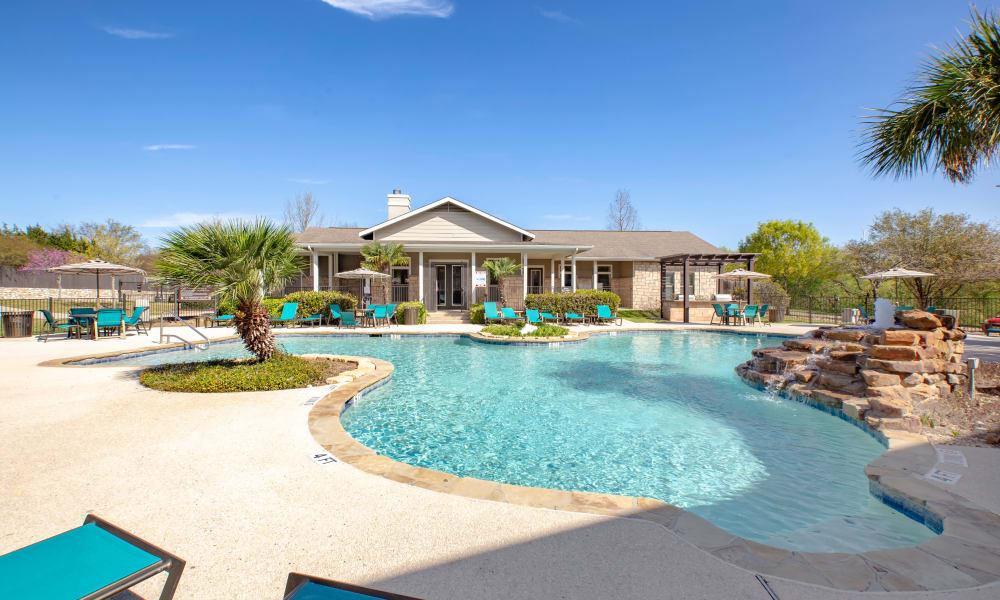 Swimming Pool at Arya Grove in Universal City, Texas