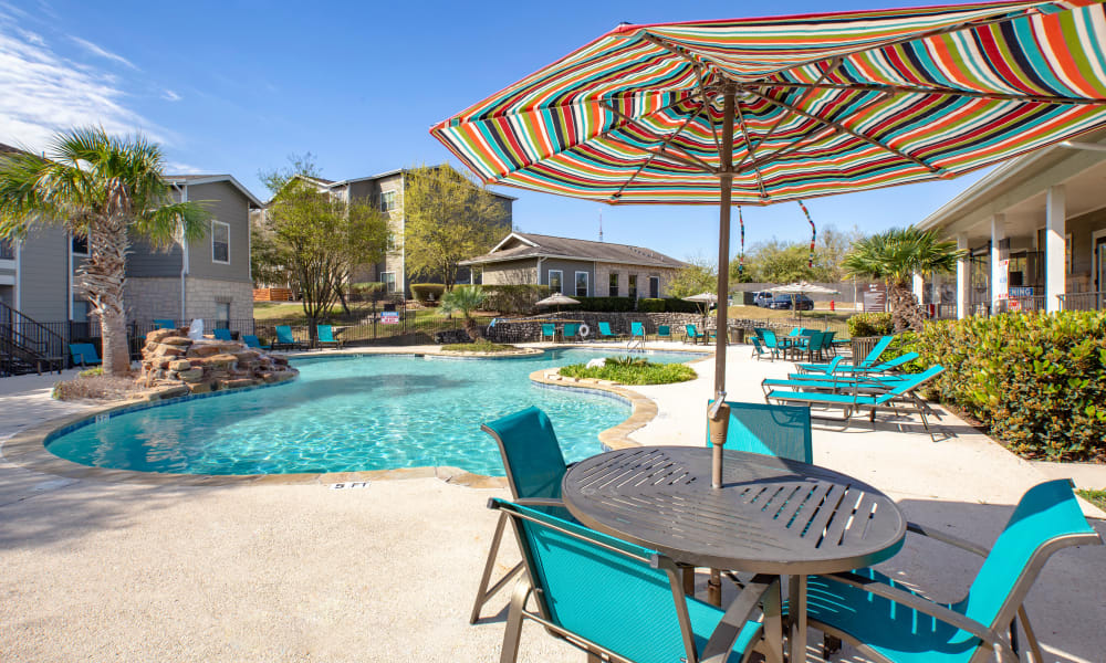 Our Apartments in Universal City, Texas offer a Swimming Pool
