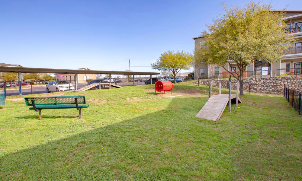 Enjoy Apartments with a Dog Park at Arya Grove in Universal City, Texas