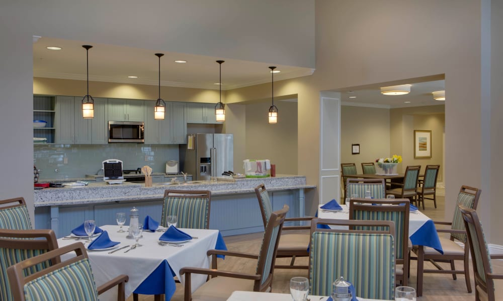 Cafe at Beach House Assisted Living & Memory Care Naples in Naples, Florida