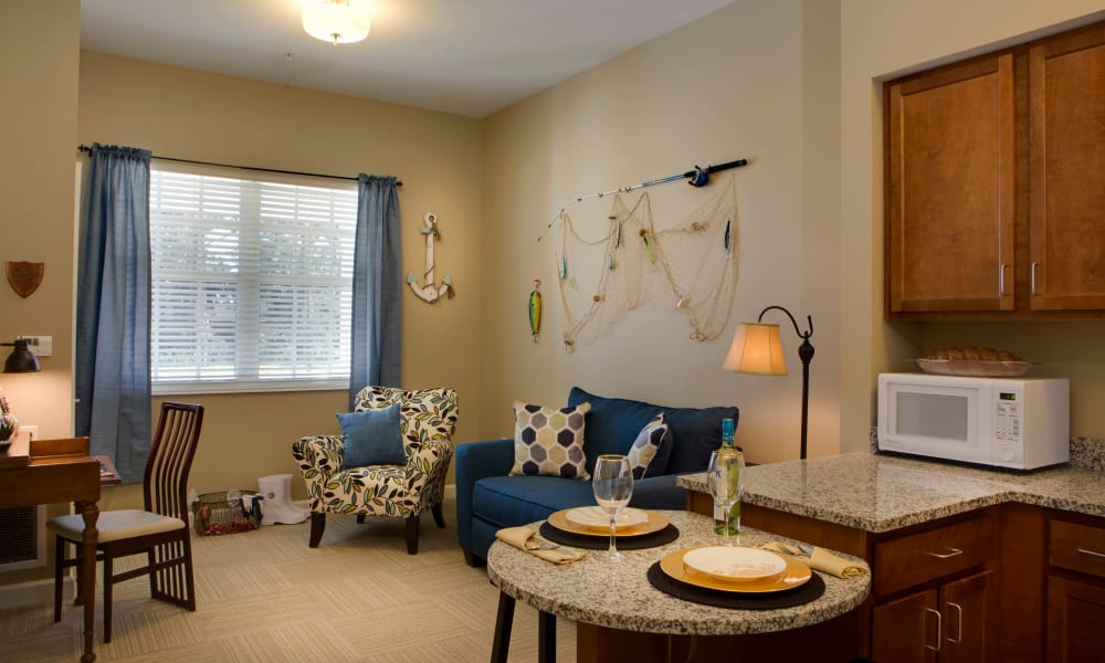 Bright and light apartment at Beach House Assisted Living & Memory Care Naples in Naples, Florida