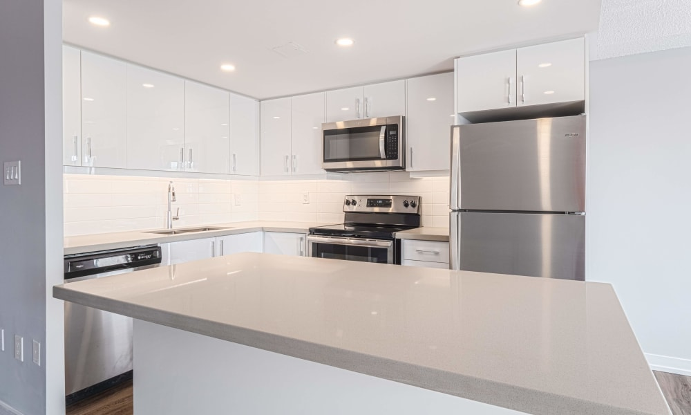 Kitchen at Mississauga Place in Mississauga, Ontario