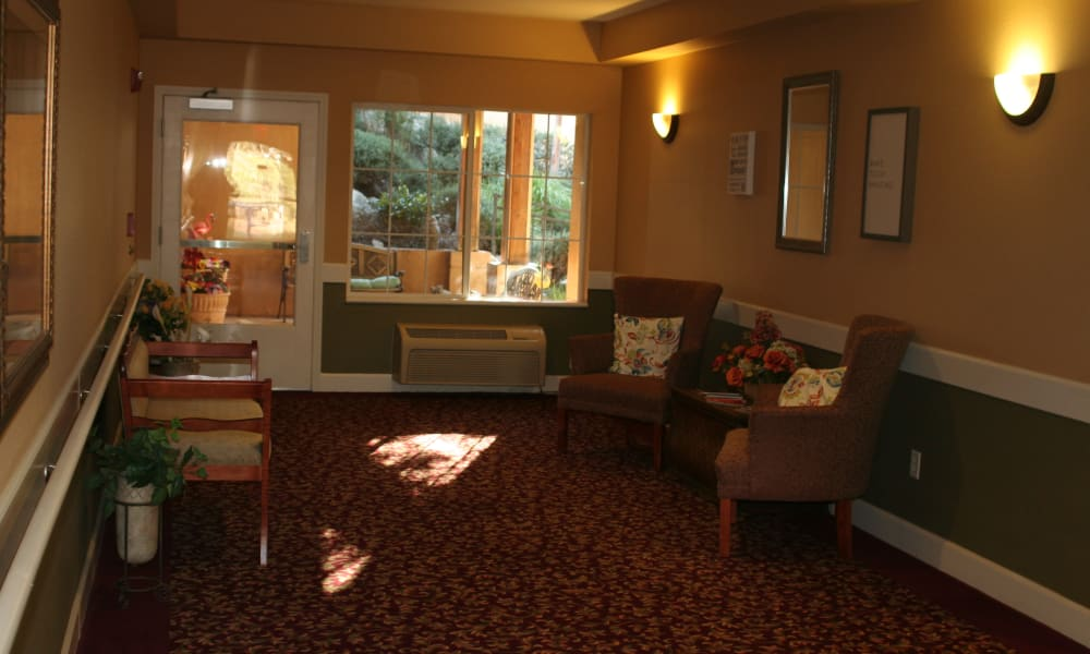 Foyer at Wildwood Canyon Villa Assisted Living and Memory Care in Yucaipa, California