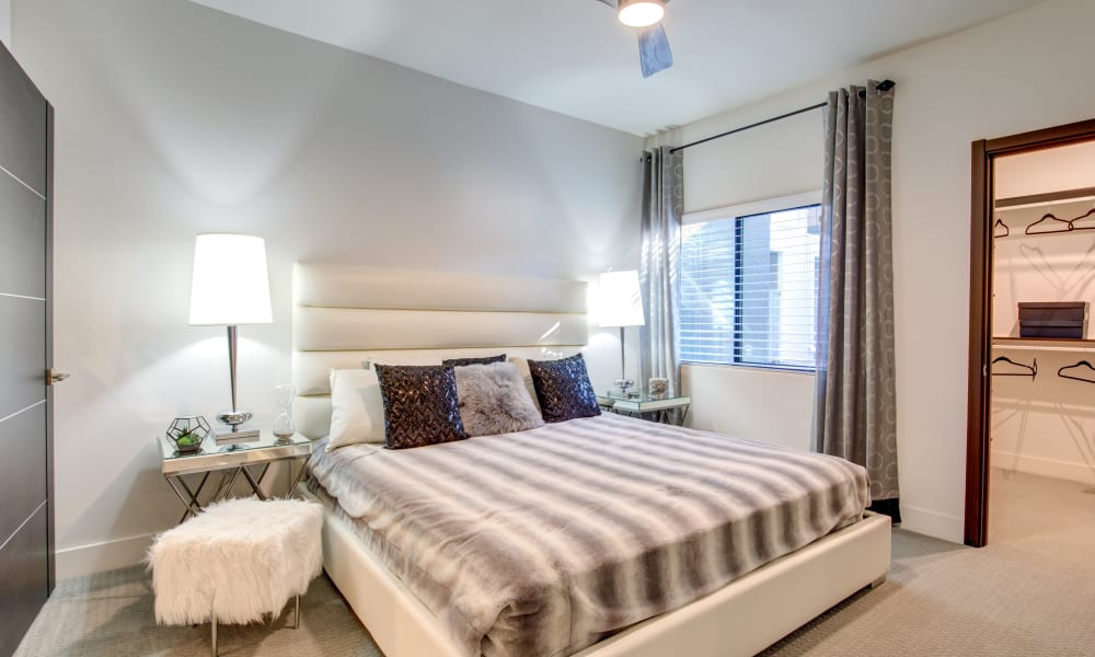 Spacious bedroom at Revolution in Henderson, Nevada