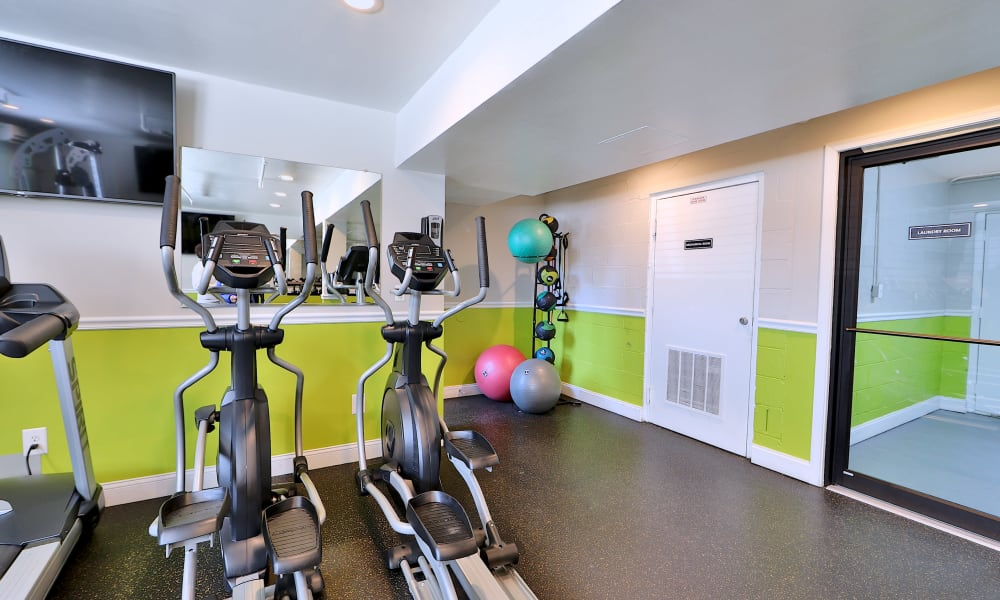 Enjoy Apartments with a Fitness Center at Cedar Creek Apartment Homes