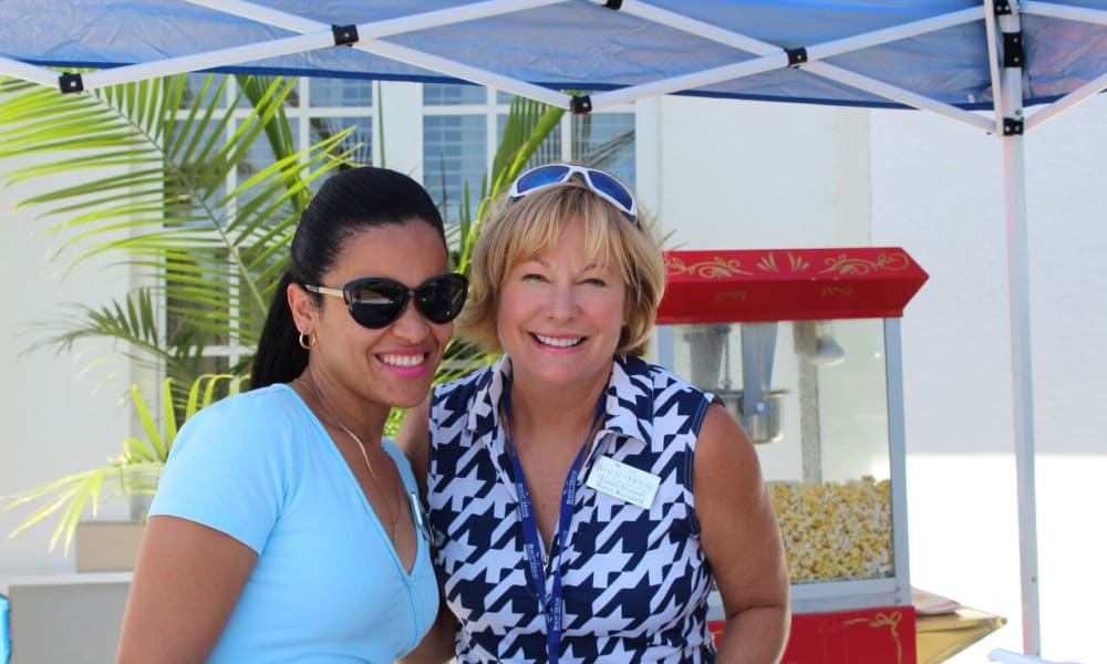 Family day at Beach House Assisted Living & Memory Care Naples in Naples, Florida