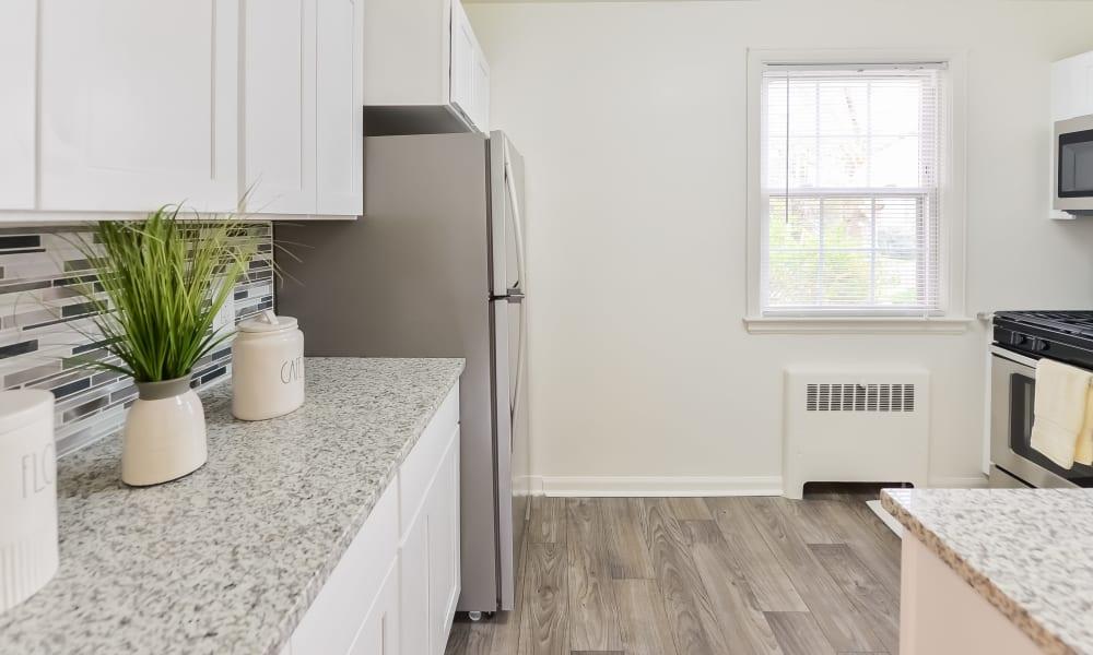 Kitchen at Short Hills Village Apartment Homes in Short Hills, New Jersey