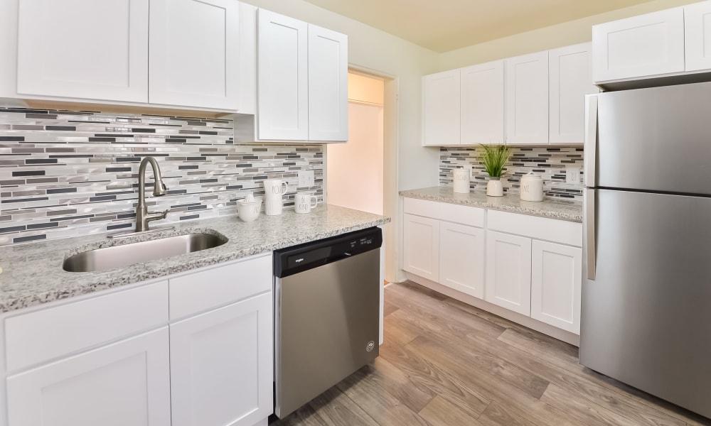 Modern Kitchen at Short Hills Village Apartment Homes in Short Hills, NJ