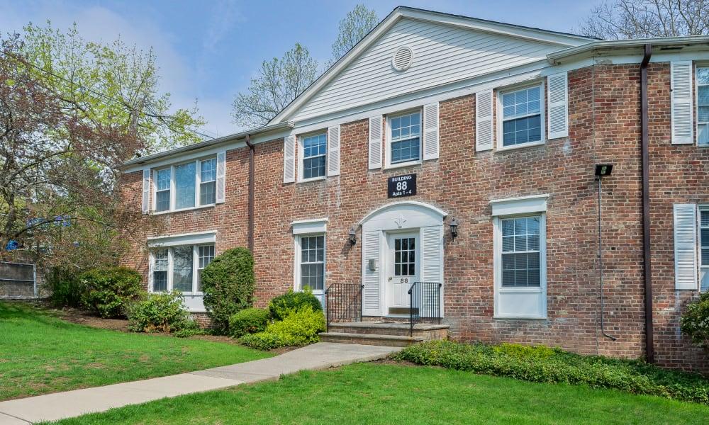 Exterior of Short Hills Village Apartment Homes in Short Hills, New Jersey