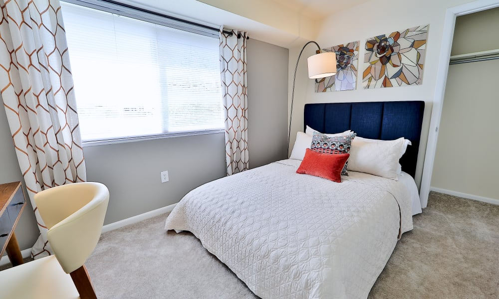 Bedroom at Villages at Montpelier Apartment Homes in Laurel, Maryland