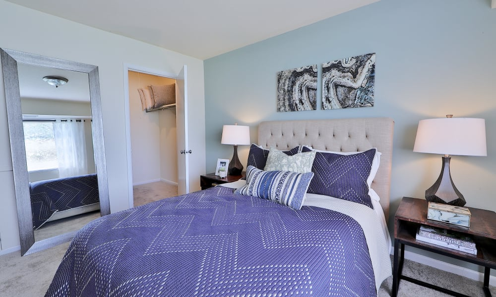Beautiful Bedroom at Villages at Montpelier Apartment Homes in Laurel, Maryland
