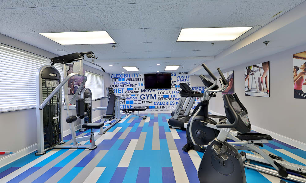 Fitness Center at Villages at Montpelier Apartment Homes in Laurel, Maryland