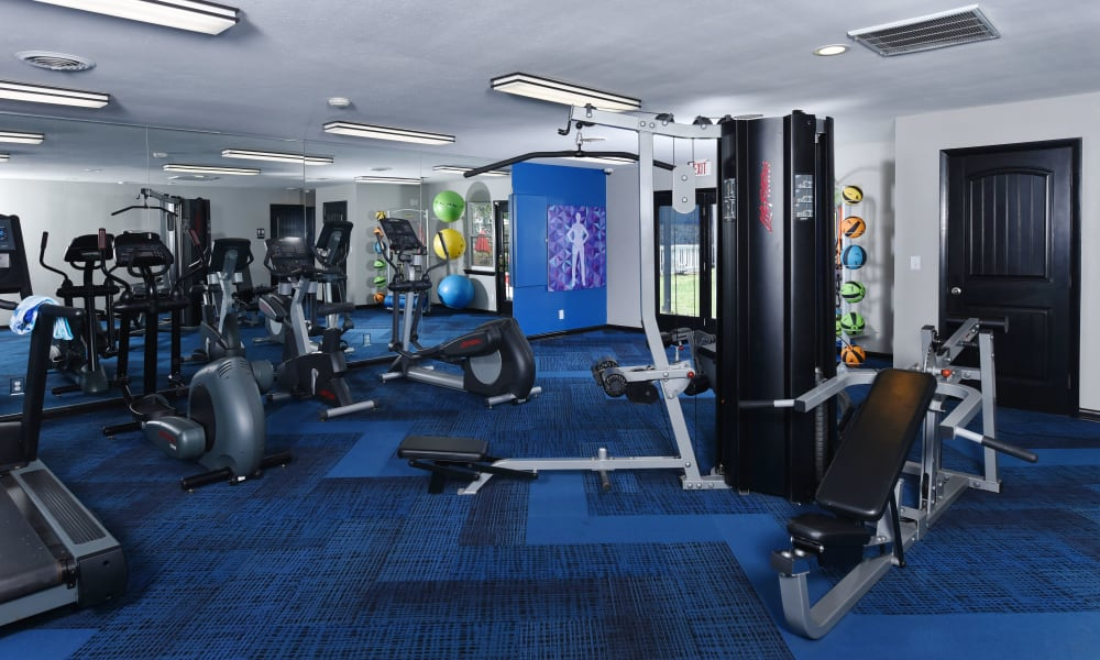 Fitness space at Mallards Landing Apartment Homes in Nashville, Tennessee