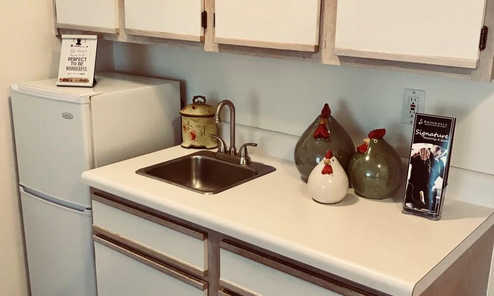 Kitchen at Maple Ridge Senior Living in Ashland, Oregon