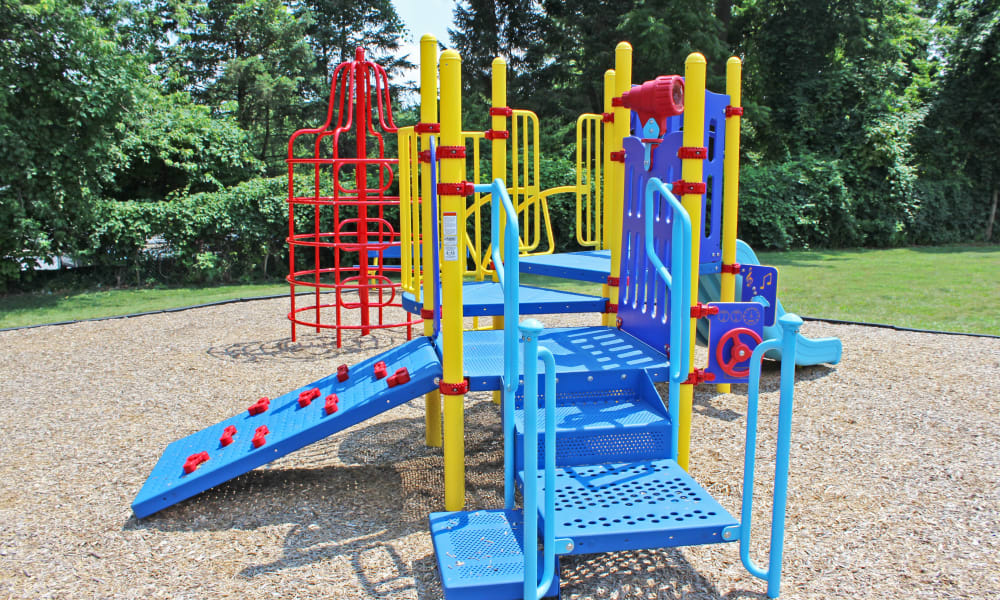 community playground at Marchwood Apartment Homes in Exton, Pennsylvania.