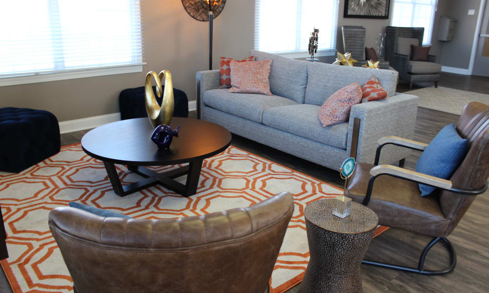 Clubhouse lounge at Marchwood Apartment Homes in Exton, Pennsylvania.
