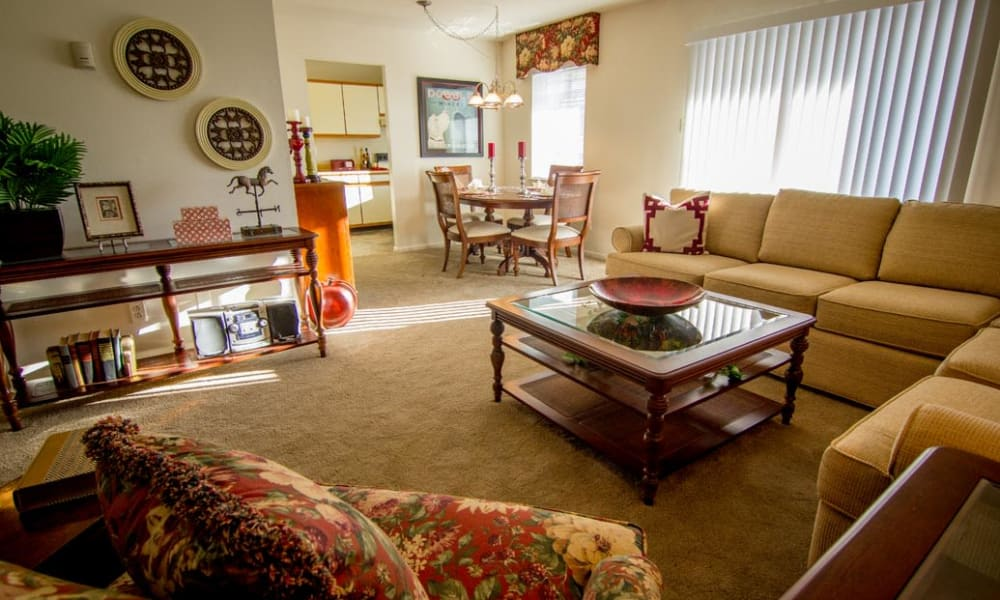 Large floor plans at Marchwood Apartment Homes in Exton, Pennsylvania.